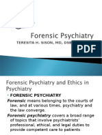 forensic psychiatry.ppt