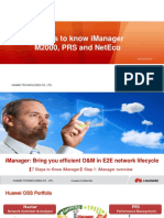 7 Steps to Know IManager M2000 PRS and NetEco V1!0!20111126