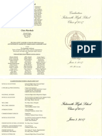 Falmouth High graduation list