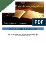Plano de Leitura Bíblica 2016 Day