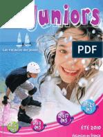 Vacances Juniors Hiver 2010-2011