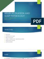 Sleep Physiology 1st Yr