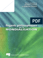 Regards Philosophiques Sur La Mondialisation