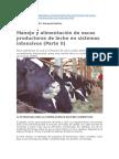 Consumo de Materia Seca en Vacas Lecheras