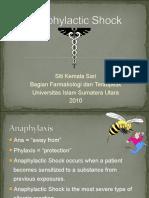 Anafilaktik Syok Untuk Mahasiswa 2007