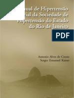 Libro Manual de Hipertensão Arterial de Rio de Janeiro