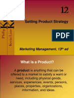 Ch 12-14 Product Strategy and Pricing