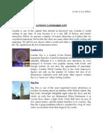 London Landmarks List