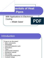 Fundamentals of Heat Pipes i i
