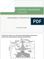 Geothermal Conceptual Models