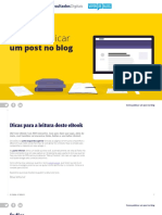Como Publicar Um Post No Blog