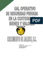 Manual de Seguridad Privada en La Custodia de Bienes y Valores