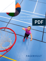 FAGERHULT - Lighting for Sports Brochure ENG