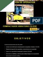 Curso Operacion Rodillo Compactador Vibratorio Cs533e Caterpillar