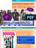 SESION 03 RECLUTAMIENTO