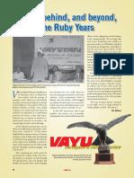 40 Years of Vayu