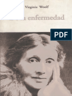 Virginia Woolf, De La Enfermedad