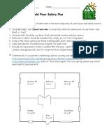 household floor safety plan