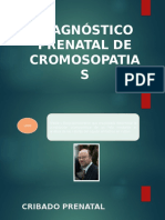 Diagnostico Prenatal de Cromosopatias