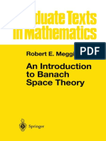 An Introduction to Banach Space Theory. R. E. Megginson.pdf