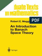 An Introduction to Banach Space Theory. R. E. Megginson.pdf