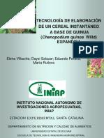 Tecnologiadeelaboracindeuncerealinstantaneoabasedequinua Villacrese Rm 091208214022 Phpapp01