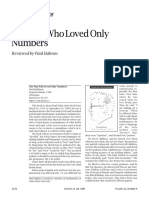 "Review of ""The Man who Loved Only Numbers"" by Paul Halmos"