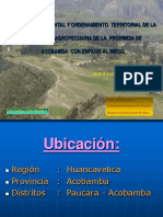 Planeamiento Ambiental y Territorial Acobamba