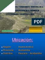 Planeamiento Ambiental y Territorial Acobamba