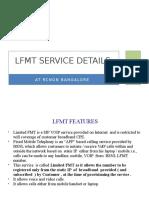 9. LFMT ServiceDetailsCallCentre