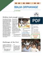 Visit to Mbajja Orphanage