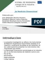 Instrumentos de Medición Dimensional Diapositivas Final