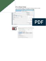 Imprimir Moldes PDF en Modo Póster