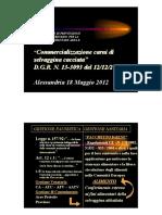 Gestione Faunistica Gestione Sanitaria 20120518