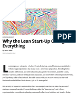 How lean startup changes everything