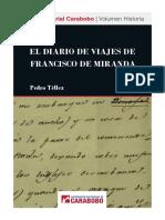 El Diario de viajes de Francisco de Miranda