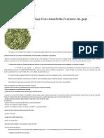 Beneficiile Frunzelor de Goji