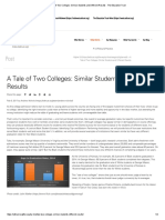 a tale of two colleges  similar students and different results - the education trust