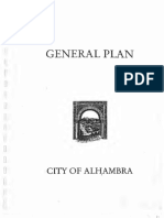 General Plan for City of Alhambra