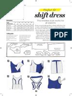 Sewing Bee Shift Dress