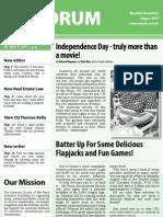 AmSoc Forum August 2010 Issue