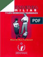 Ricardo Ruiz Carbonell La Violencia Familiar y Los Derechos Humanos.pdf