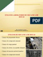CAP III B Ensayos de Laboratorio de Mecánica de Rocas