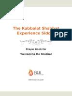Kabbalat Shabbat Siddur