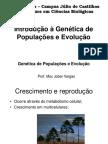 Introdução a Genética de Populações e Evolução