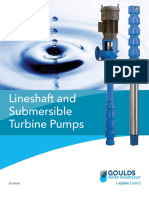 Lineshaft and Submersible Turbine Pumps