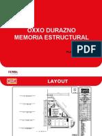 Memoria Estructural OXXO Durazno