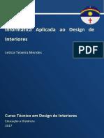 Caderno DI - Informática Aplicada Ao Design de Interiores 2017