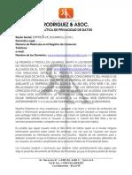 Portfolio Sample - Spanish - Privacy Policies
