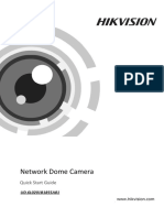 11XX_21XX_Quick Start Guide of Network Dome Camera